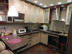 Кухня угловая малая  со встройкой