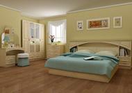 Спальня Камелия малая перламутр